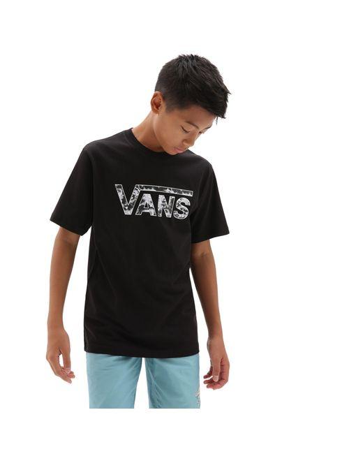 T-shirt Classic Logo Fill Garçon Vans pour homme en coloris Noir ...