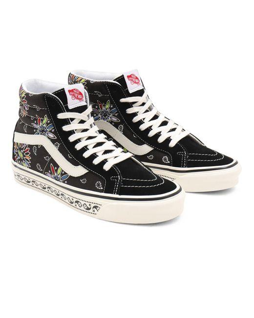 Chaussures Anaheim Factory Sk8-hi 38 Dx Vans en coloris Noir - Lyst