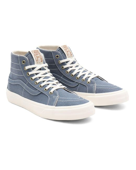 Chaussures Eco Theory Sk8-hi 38 Decon Sf Vans en coloris Bleu - Lyst