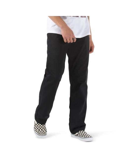 Vans Authentic Chino Relaxed Hose in Black für Herren