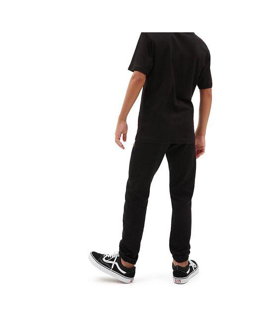 Vans Jungen Authentic Checker Fleecehose in Black für Herren