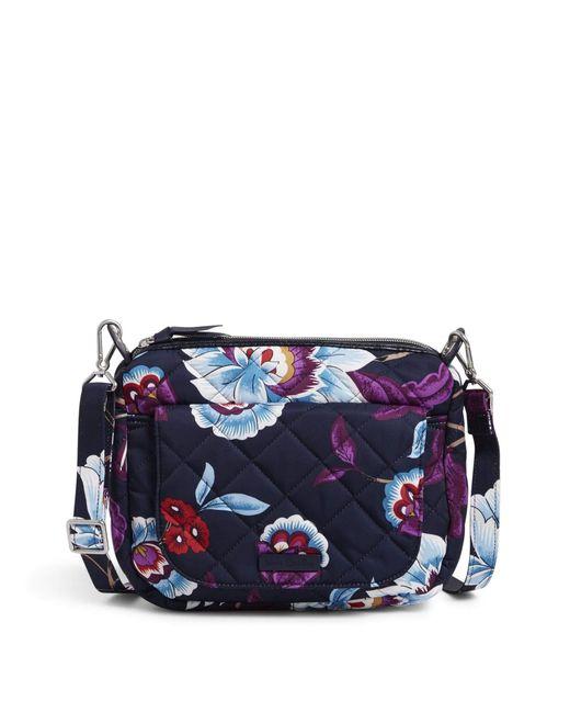 Vera Bradley Blue Carson Mini Shoulder Bag