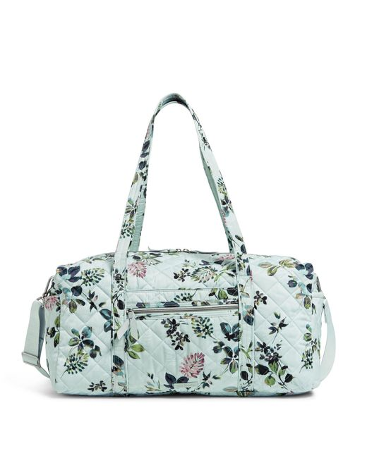 Vera Bradley Green Medium Travel Duffel Bag