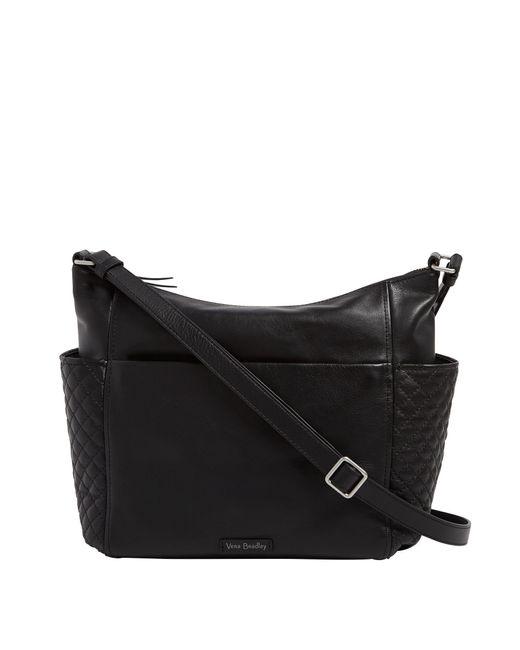 Vera Bradley Black Carryall Shoulder Bag