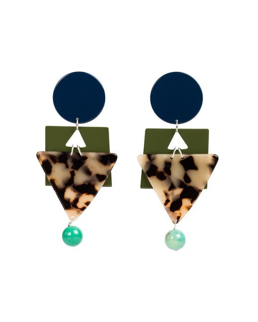 Veronica Beard - Blue Cleopatra Earrings Bianca Mavrick - Lyst