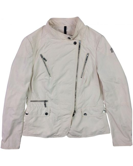 Moncler - Natural Pre-owned Jacket - Lyst
