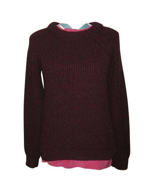 Hermès - Purple Wool Jumper - Lyst