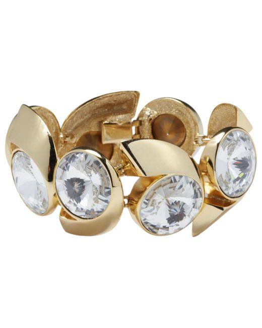 Lanvin - Metallic Pre-owned Vintage Gold Metal Bracelets - Lyst