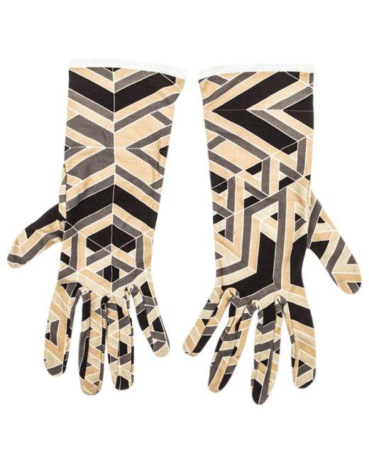Hermès - Multicolor Silk Long Gloves - Lyst