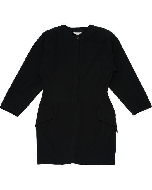 Versace Black Synthetic Dress