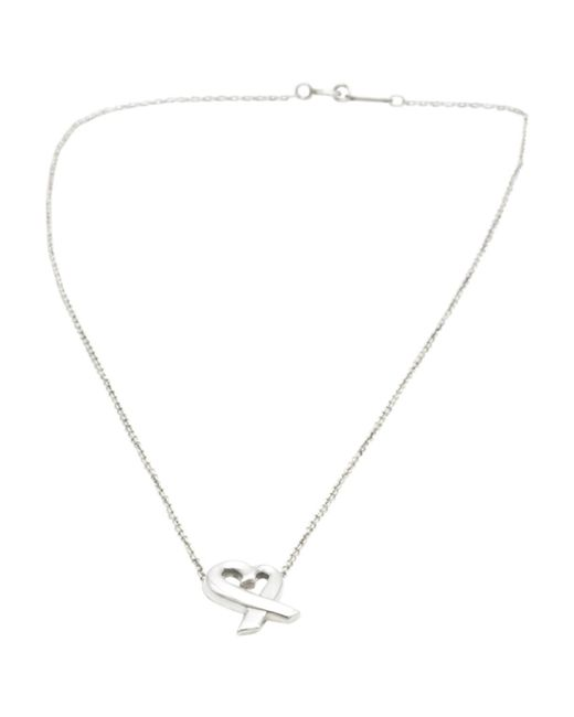 Tiffany & Co - Metallic Paloma Picasso Silver Silver Necklace - Lyst