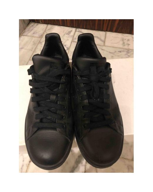 adidas Stan Smith Leather Trainers in