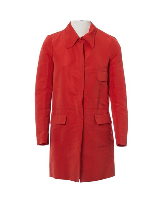 Marni Red Polyester Jacket