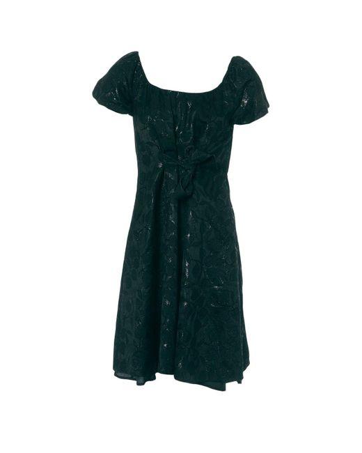 Moschino Black Cotton Dress