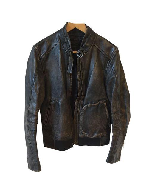 Vest.Blousons \N en Cuir Noir Marc Jacobs pour homme en coloris Black