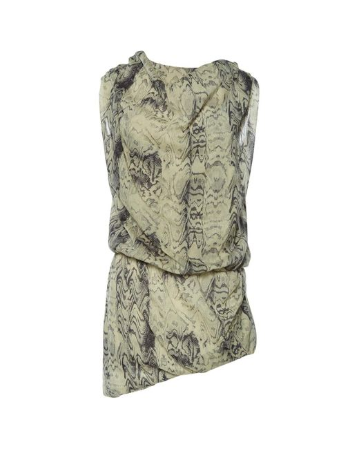 IRO Gray Grey Silk Dress