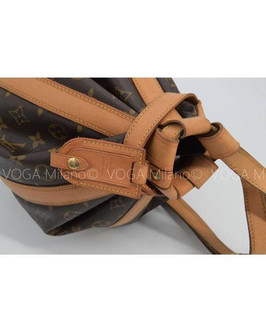 Mochila de Lona Louis Vuitton de color Brown
