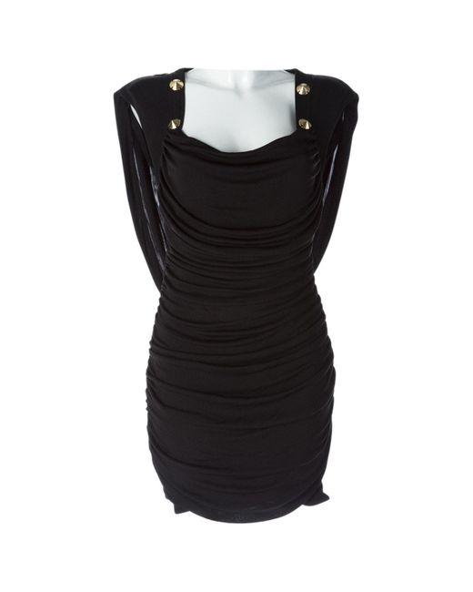 Temperley London Black Silk Dress