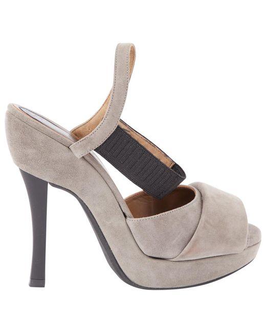 Marni - Gray Heels - Lyst