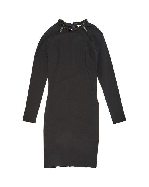 Stella McCartney Black Cotton Dress