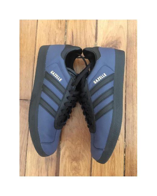 adidas Sneakers Gazelle in Pelle da donna di colore blu