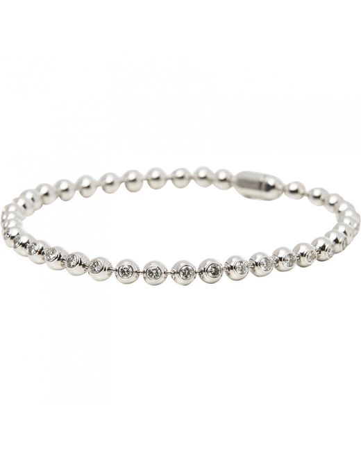 Cartier - White Gold Bracelet - Lyst