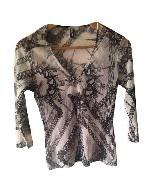 Jean Paul Gaultier Camiseta de mujer de color blanco Azyu7