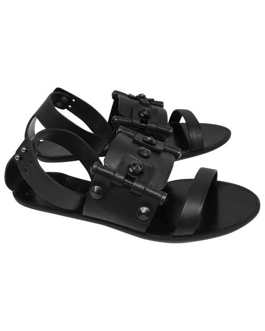 Lanvin Black Leather