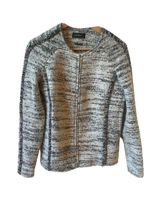 Isabel Marant - Gray Pre-owned Wool Jacket - Lyst