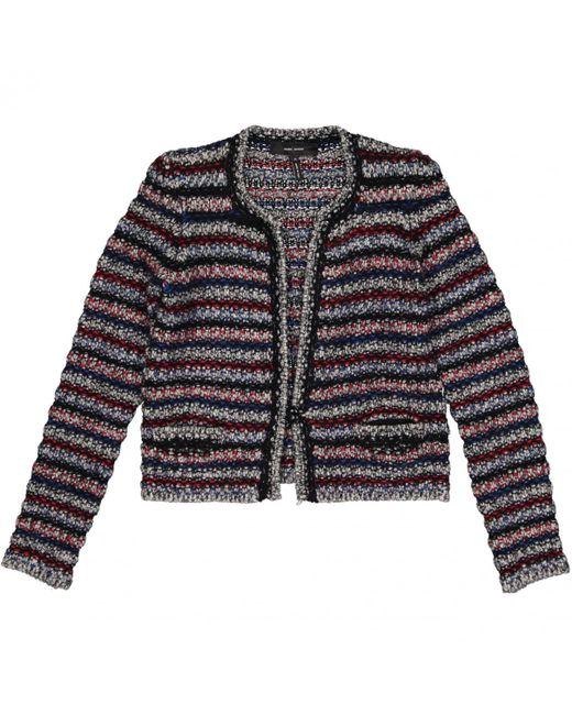 Isabel Marant - Multicolor Multicolour Wool Jacket - Lyst