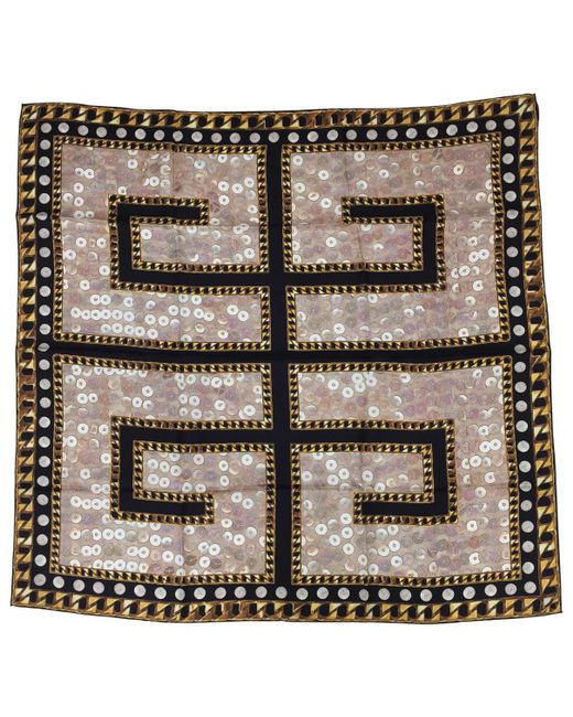 Givenchy - Multicolor Multicolour Silk Scarves - Lyst