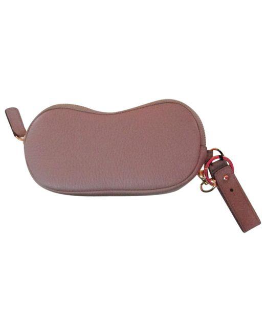 Jil Sander - Natural Leather Purse - Lyst