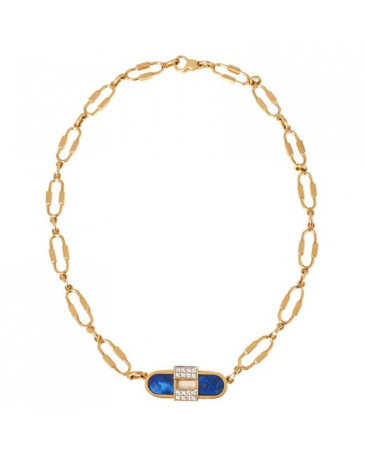 Cartier - Pre-owned Yellow Gold Necklace - Lyst