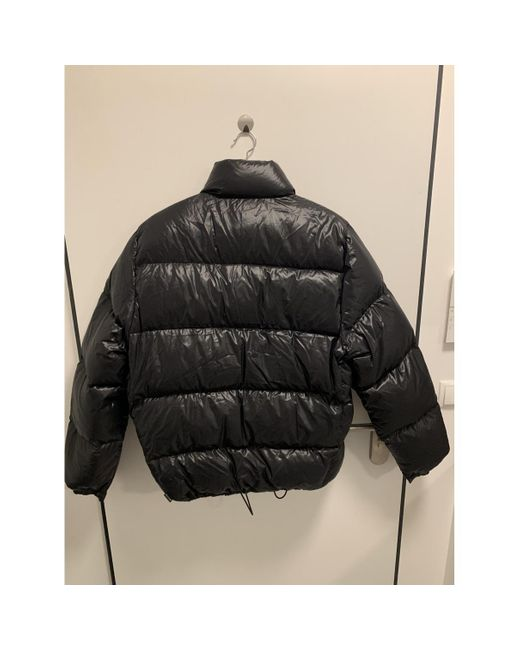 Moncler Black Classic Puffer for men