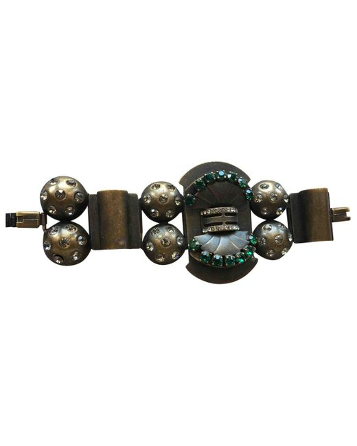 Marni Multicolor Metallic Metal Bracelets