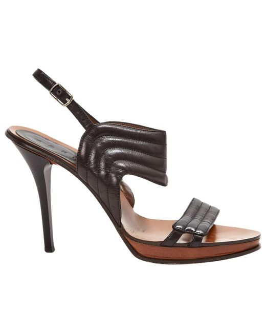 Marni Black Leather
