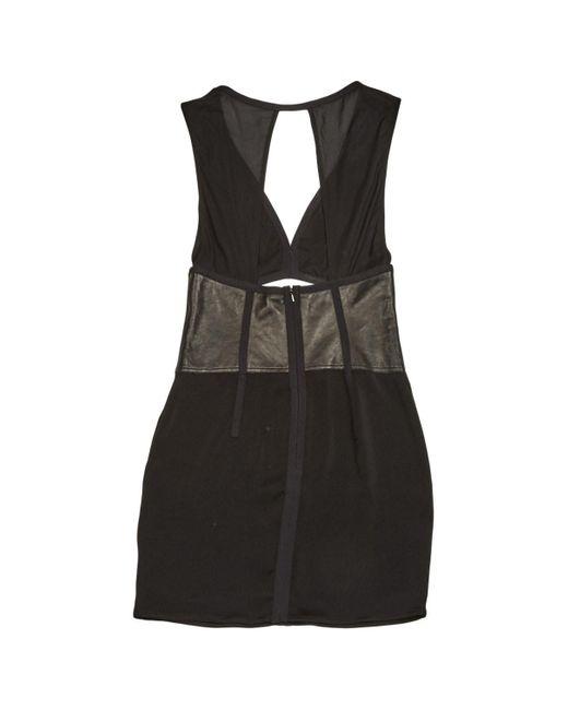 Alexander Wang Black Leather