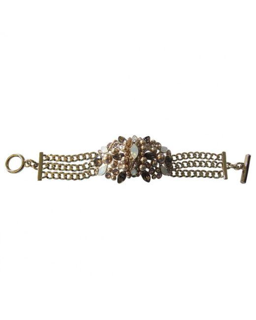 Givenchy - Multicolor Pre-owned Metal Bracelet - Lyst