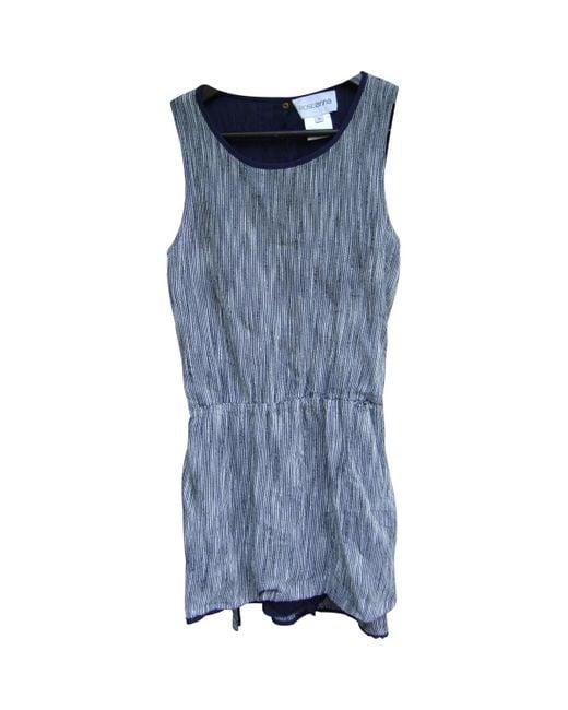 Roseanna \n Black Cotton Dress