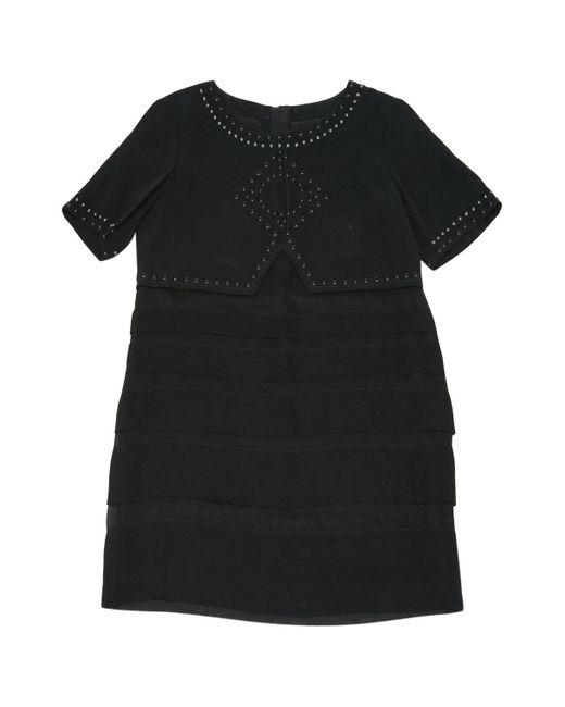 Barbara Bui Black Viscose Dress
