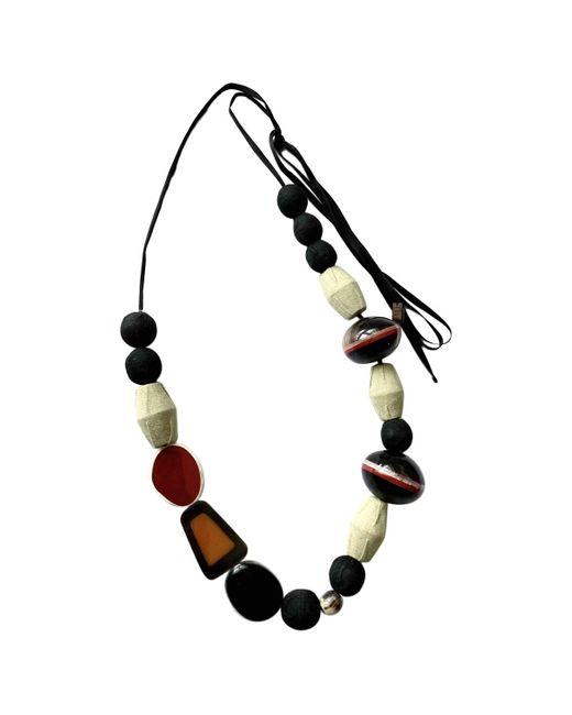 Marni Multicolor Multicolour Metal Long Necklace