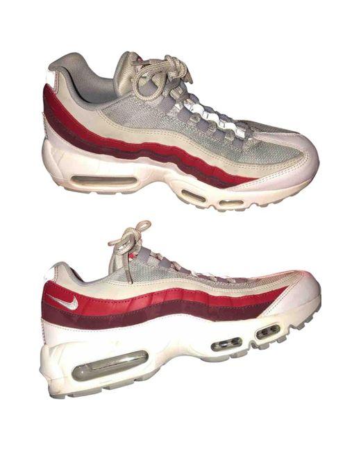 Nike Deportivas Air Max 95 de hombre de color blanco