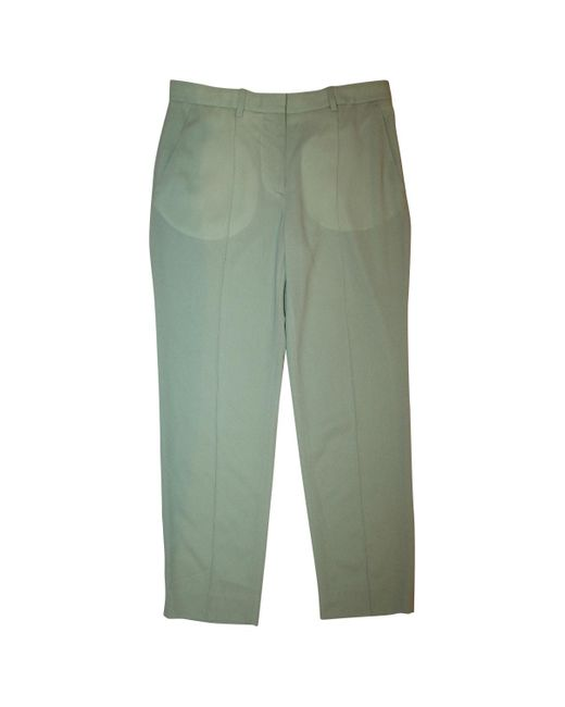 Acne Green Trousers