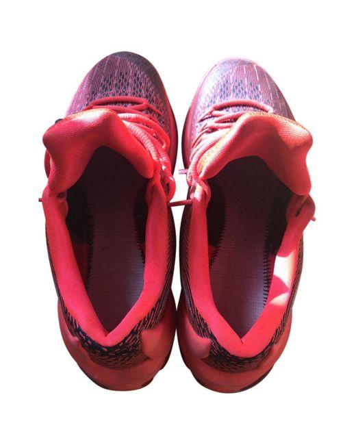 Nike Deportivas de Lona de hombre de color rosa