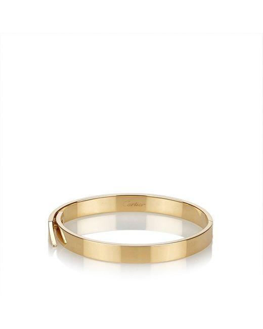 Cartier Metallic Gelbgold Armbänder