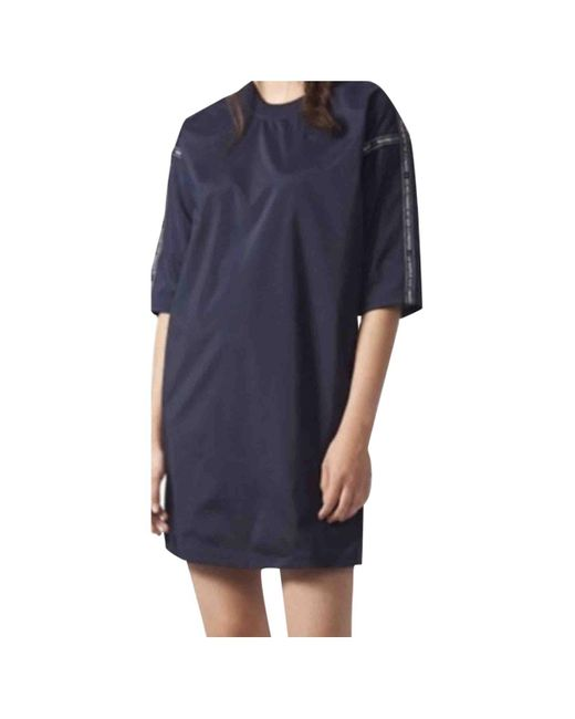 Robe en Polyester Multicolore Adidas