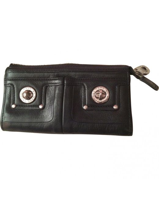 Marc By Marc Jacobs - Black Leather Wallet - Lyst