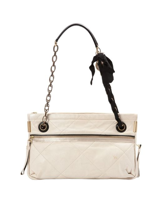 Lanvin Pre-owned - Amalia leather handbag mhBYjsBKu