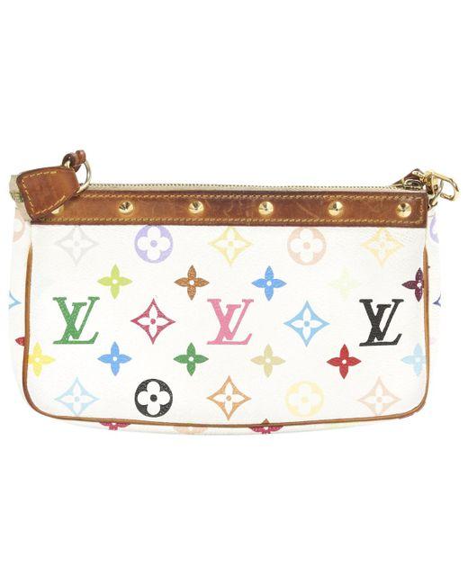 Louis Vuitton   Multicolor Pre-owned Pochette Clutch Bag   Lyst