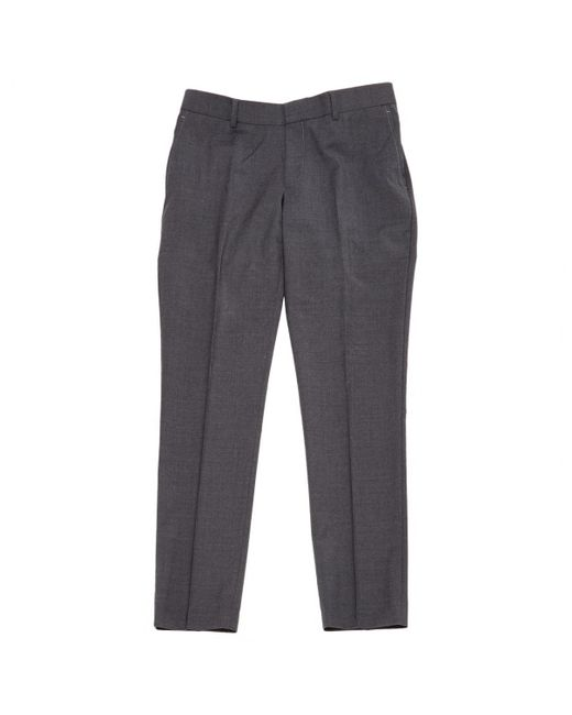 The Kooples - Gray Grey Wool Trousers for Men - Lyst